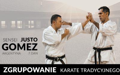 Zgrupowanie z senseiem Justo Gomezem