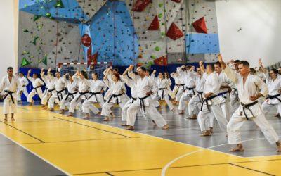 Pół tysiąca karateków na treningach z senseiem Justo Gomezem