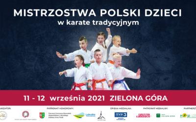 Zapisy na Mistrzostwa Polski Dzieci w Karate Tradycyjnym